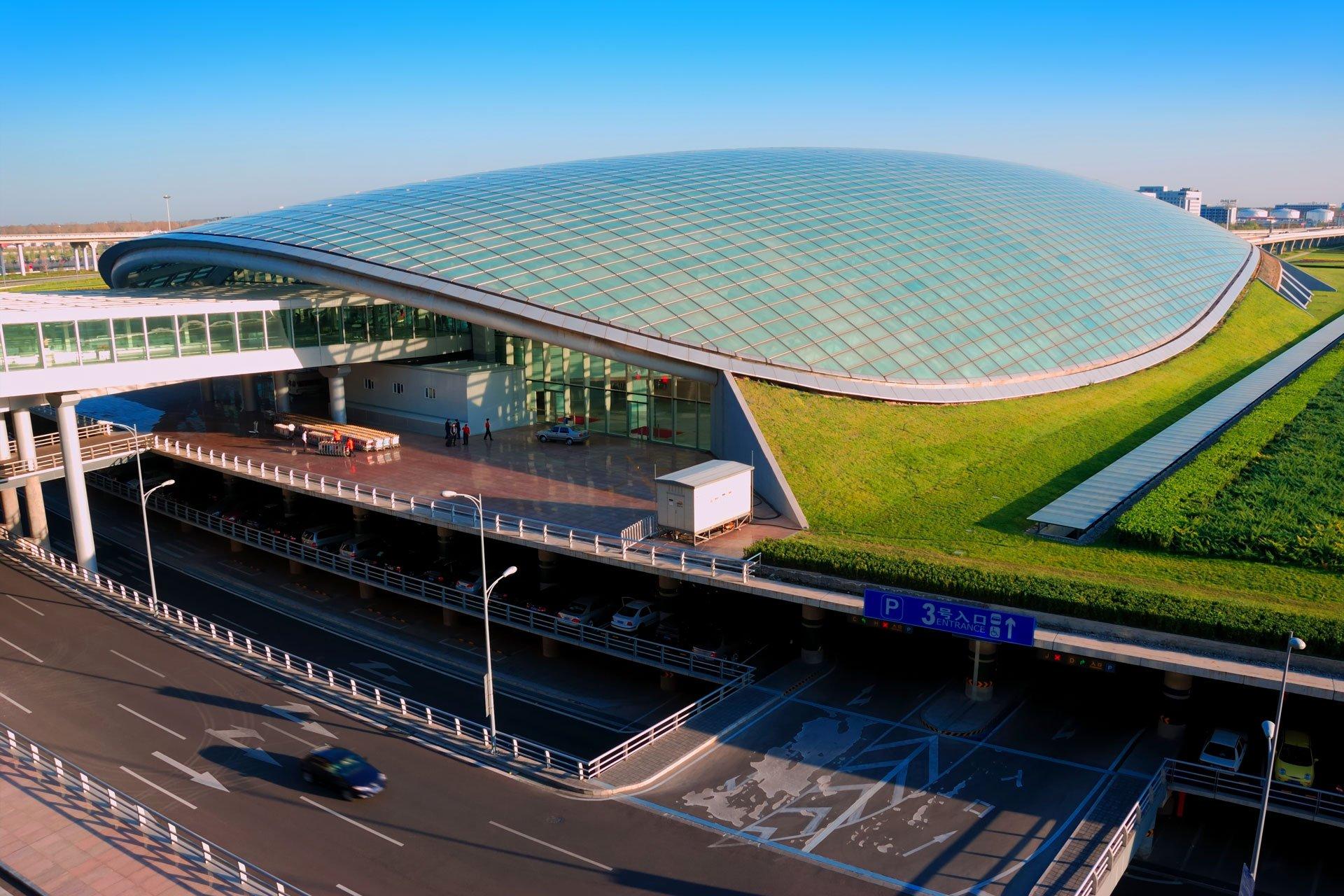 Beijing Capital International Airport Außenaufnahme