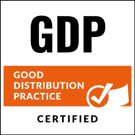 Symbolbild GDP Good Distribution Practice Zertifikat